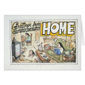 Cartes Salutations de maison
