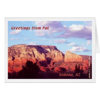 Cartes Salutations de Sedona 'de Pat