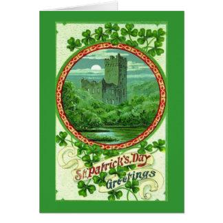 Cartes Salutations du jour de St Patrick