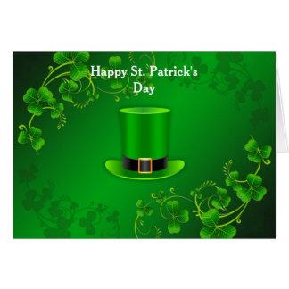 Cartes Salutations du jour de St Patrick heureux