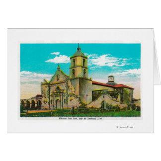 Cartes San Luis de mission, Rey de FranciaOceanside, CA