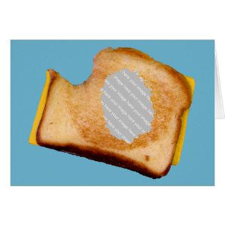 Cartes Sandwich grillé personnalisable à fromage