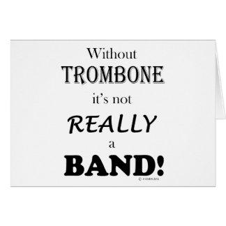 Cartes Sans trombone - bande