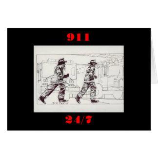 Cartes Sapeurs-pompiers dans la vitesse