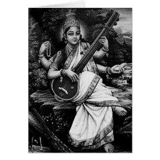 Cartes Saraswati-Namaste