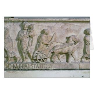 Cartes Sarcophage de Cornélius Statius