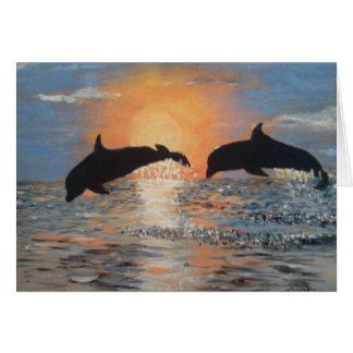Cartes Saut des dauphins