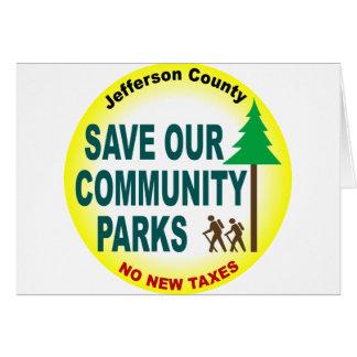 Cartes Sauvez nos parcs communautaires