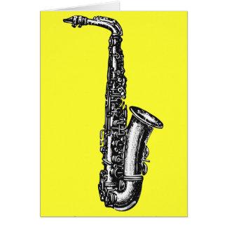 Cartes Saxophone d'alto