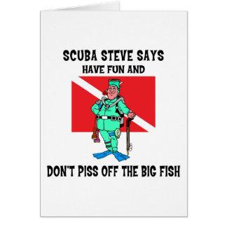 Cartes SCAPHANDRE Steve