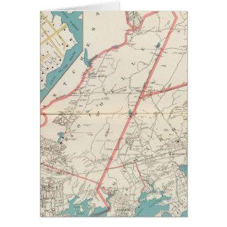 Cartes Scarsdale, New Rochelle, villes de Mamaroneck
