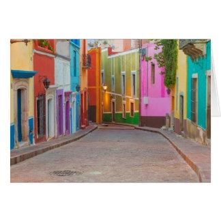 Cartes Scène colorée de rue