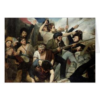 Cartes Scène de la révolution 1830