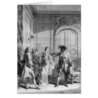 "Cartes Scène de ""Othello"" par William Shakespeare"