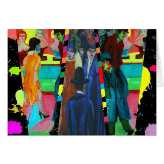 Cartes Scène de rue par Ernst Ludwig Kirchner