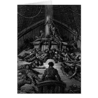 """Cartes Scène """"du givre du marin antique"""" 3"""