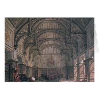 Cartes Scénographie pour l'acte III du jeu 'Henry VIII