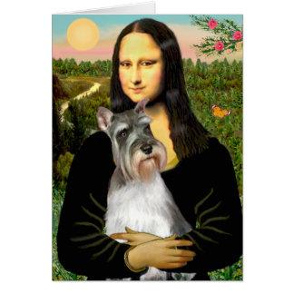 Cartes Schnauzer 11N - Mona Lisa