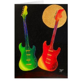 Cartes Scintillement de guitare