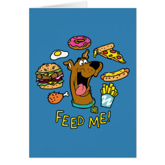 Cartes Scooby-Doo m'alimentent !