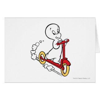 Cartes Scooter d'équitation de Casper