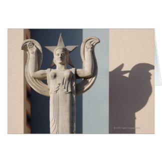 Cartes Sculpture en art déco à la foire d'état du Texas