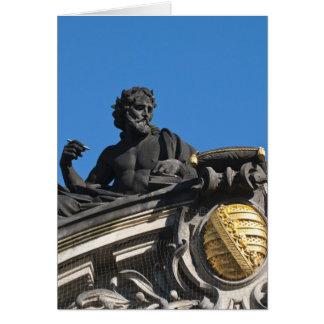 Cartes Sculptures sur l'académie royale d'art, Dresde
