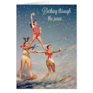 Cartes Se précipiter par la neige !