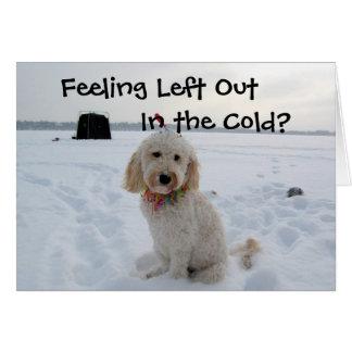 Cartes Se sentir gauche dans le froid