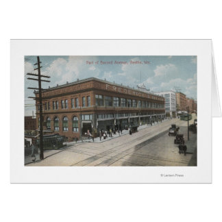Cartes Seattle, avenue Frederick et Nelson de WASecond