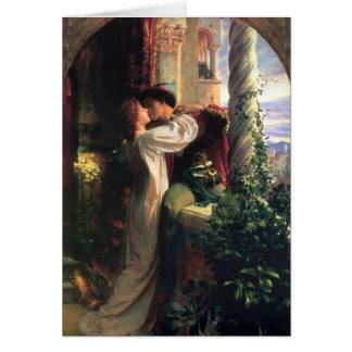 Cartes Secret de Romeo et de Juliet de l'amour