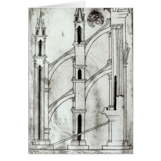 Cartes Section du mur et de la voûte