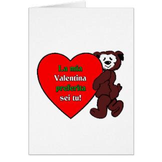 Cartes Sei TU de preferita de Valentina de mia de La !