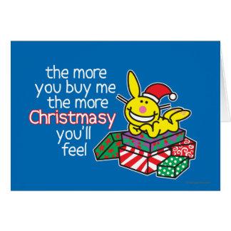 Cartes Sensation Christmasy