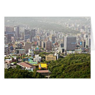Cartes Séoul d'en haut