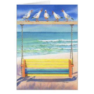 Cartes Sérénade de bord de la mer