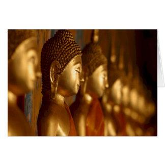 Cartes Sérénité de tranquilité de paix de Bouddha