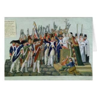 Cartes Serment des secteurs, février 1790