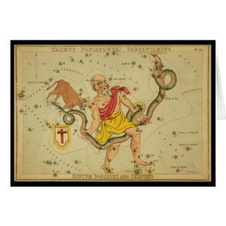 Cartes Serpens, Taureau Poniatowski, Serpentarius, etc.