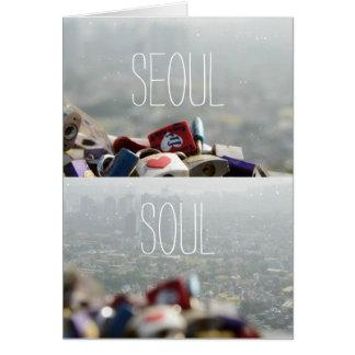 Cartes Serrures d'amour de Séoul