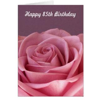 Cartes S'est levé le 85th anniversaire
