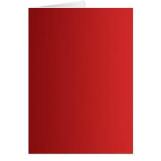 Cartes SEULEMENT gradients de COULEUR - rouge