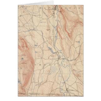 Cartes Sheffield, le Massachusetts