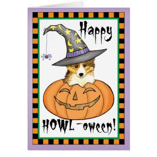Cartes Sheltie Halloween