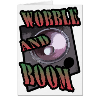 Cartes shimmy et boom Dubstep