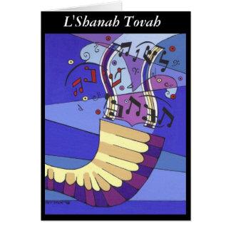 Cartes Shofar Rosh Hashana, L'Shanah Tovah