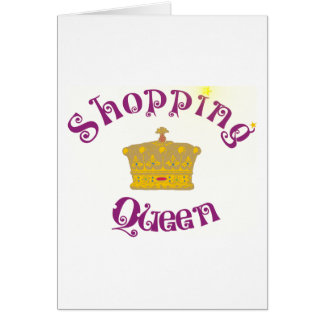 Cartes shopping Queen