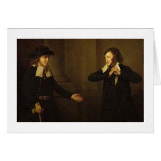 Cartes Shylock et Tubal de l'acte III, scène II 'du M