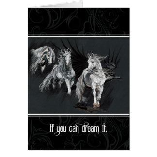 Cartes Si vous pouvez le rêver, vous pouvez le faire