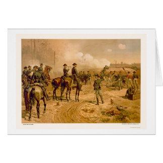 Cartes Siège d'Atlanta par L. Prang & Company 1888